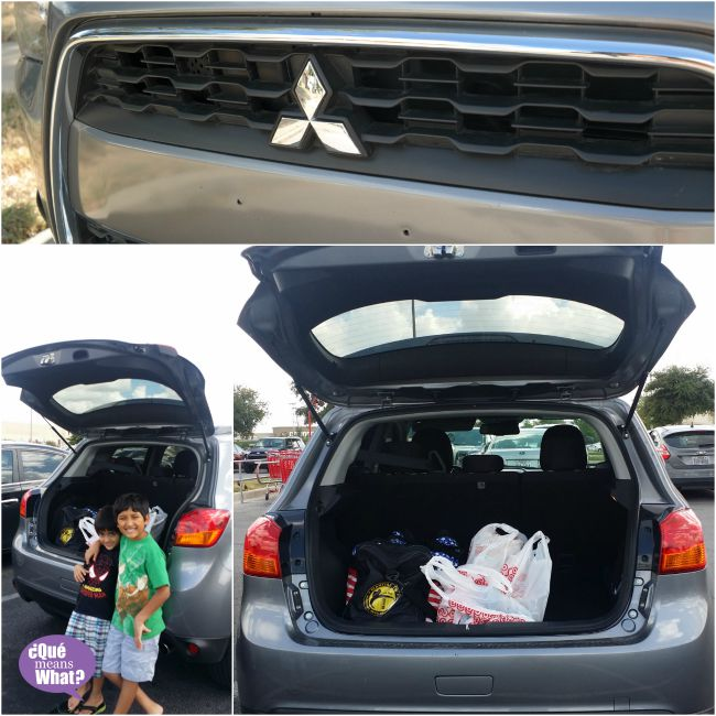 Running Errands in Mitsubishi Outlander - QueMeansWhat.com