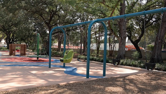 Preschool Play Area at Yanaguana Garden - QueMeansWhat
