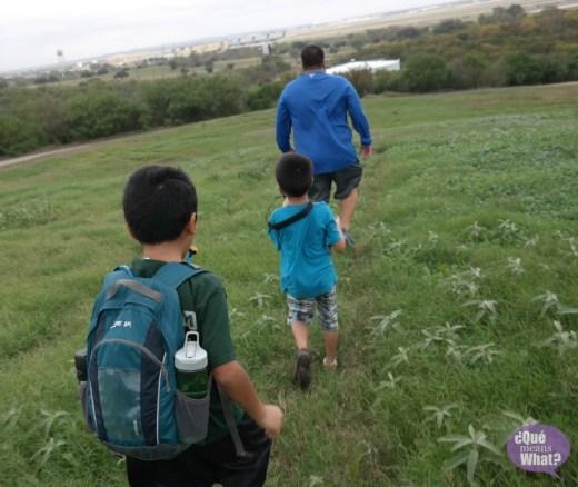 Pearsall Park Trailhead - Que Means What