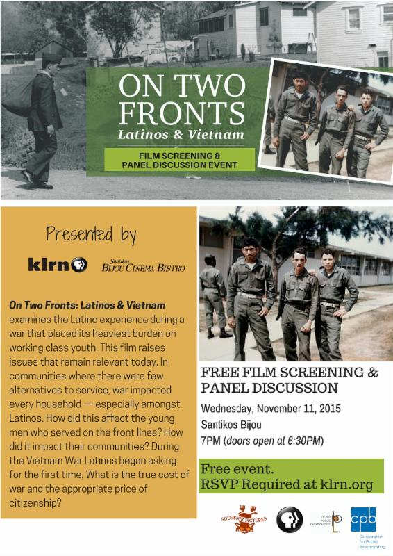 On Two Fronts Screening in San Antonio