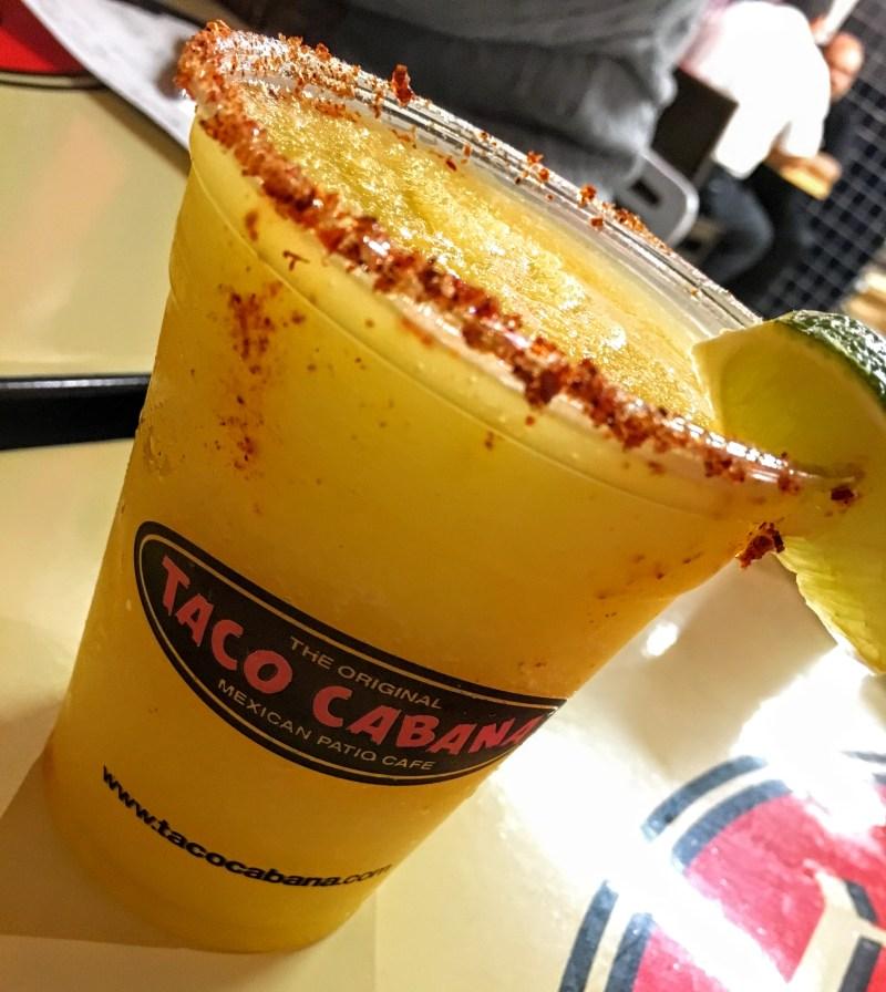 Taco Cabana Mango Margarita