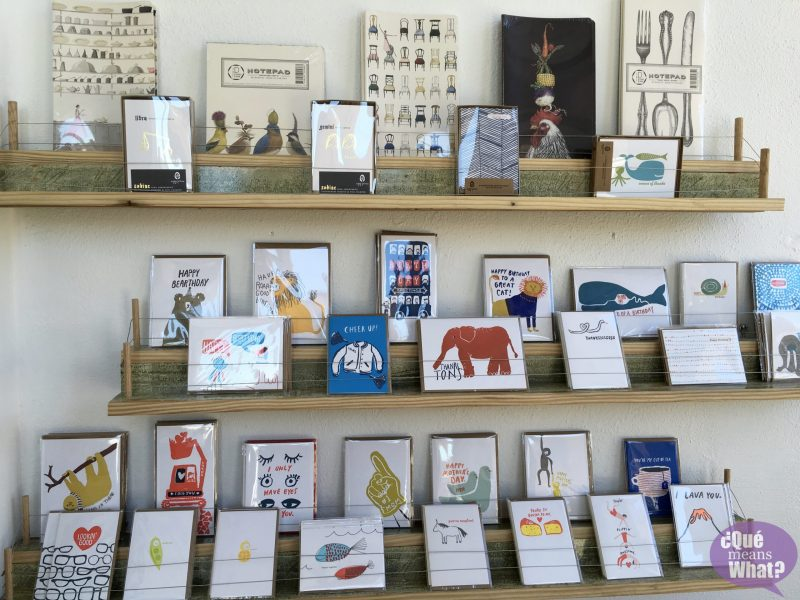 Stationery at Ore and Timber QueMeansWhat.com