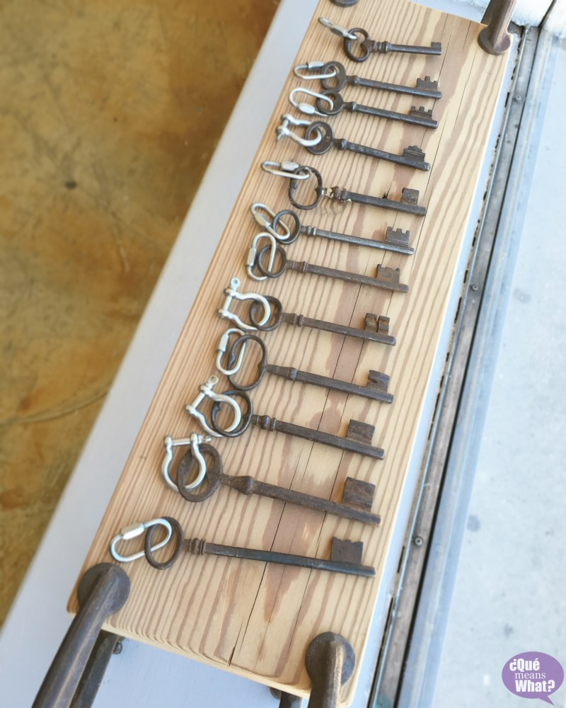 Keychains at Ore and Timber QueMeansWhat.com