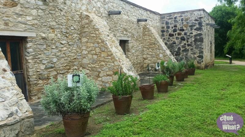 Garden at Mission San Juan National Park