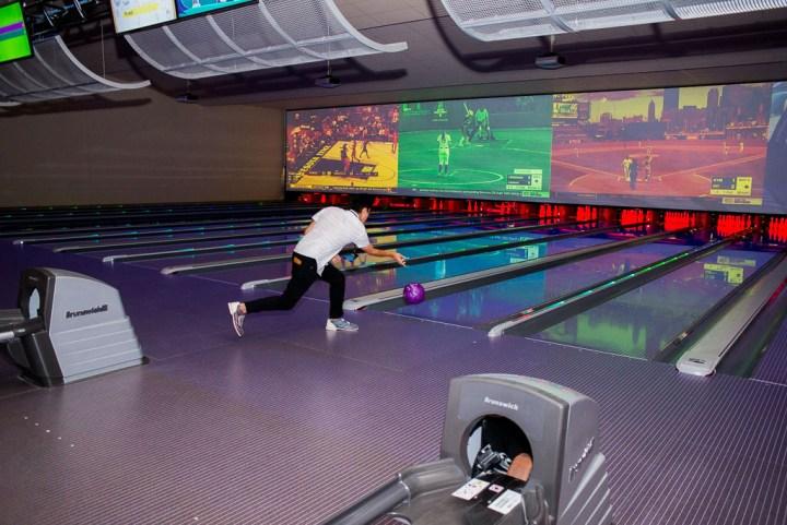 Bowling at Santikos Casa Blanca