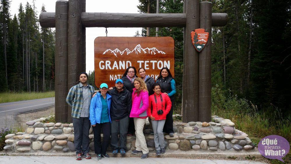 American Latino Expedition at the Grand Tetons National Park