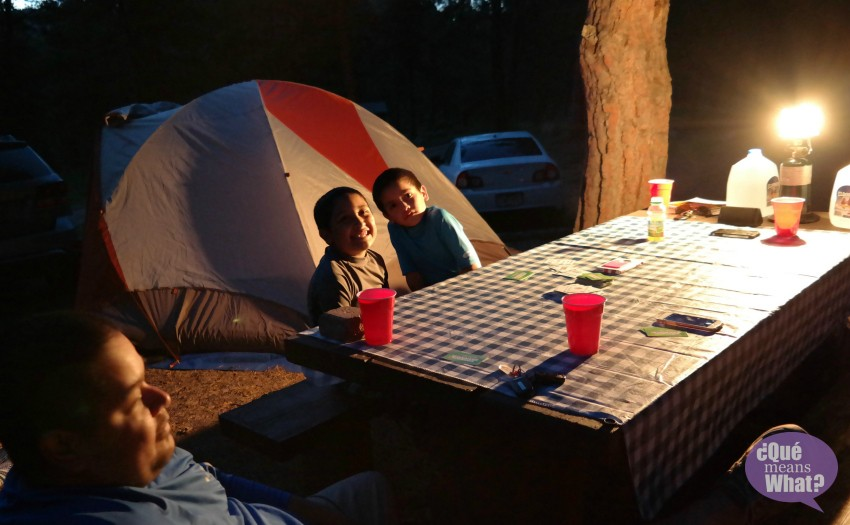 Camping in Colorado Pike National Forest - Que Means What