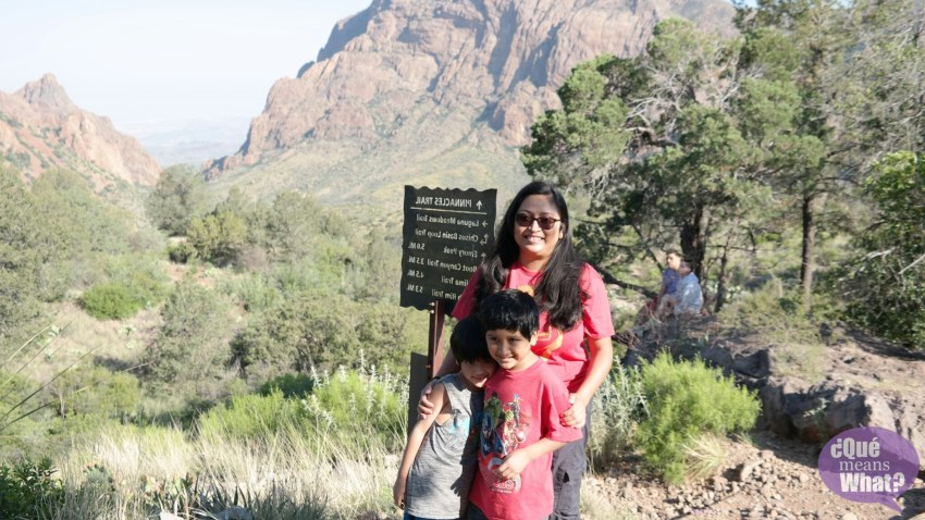 Hiking at Big Bend National Park