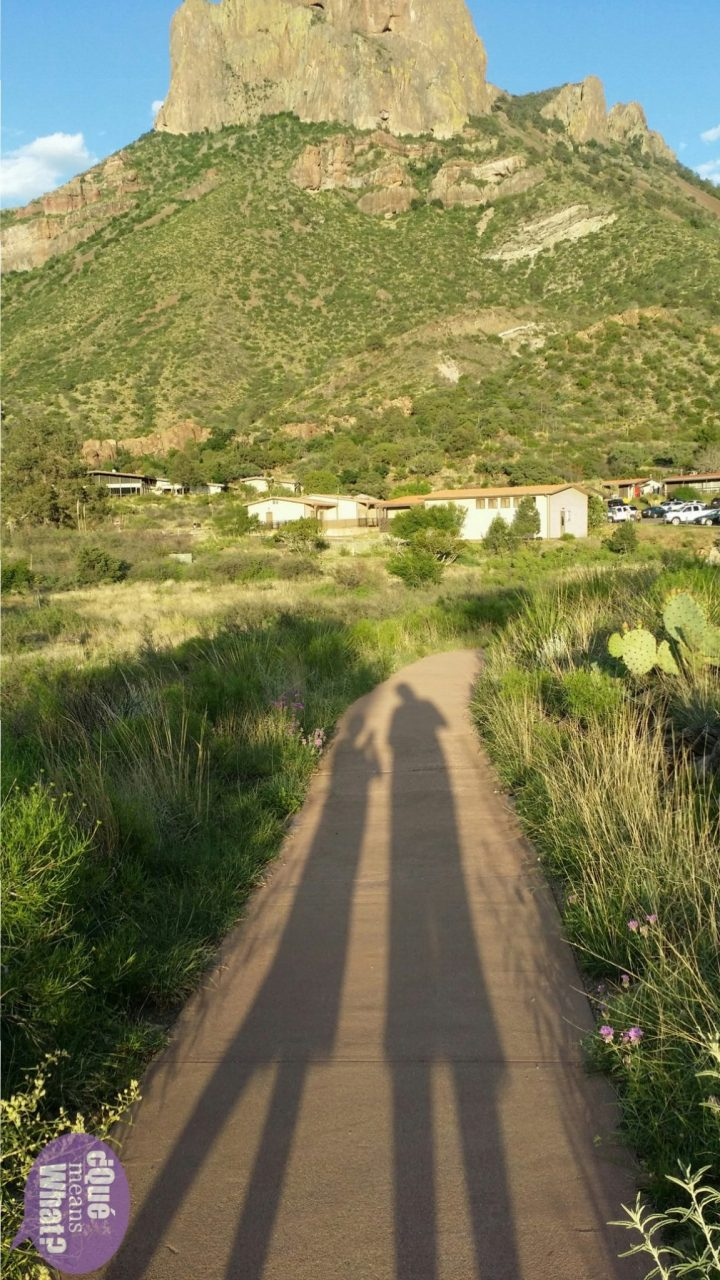 Shadows at Big Bend National Park