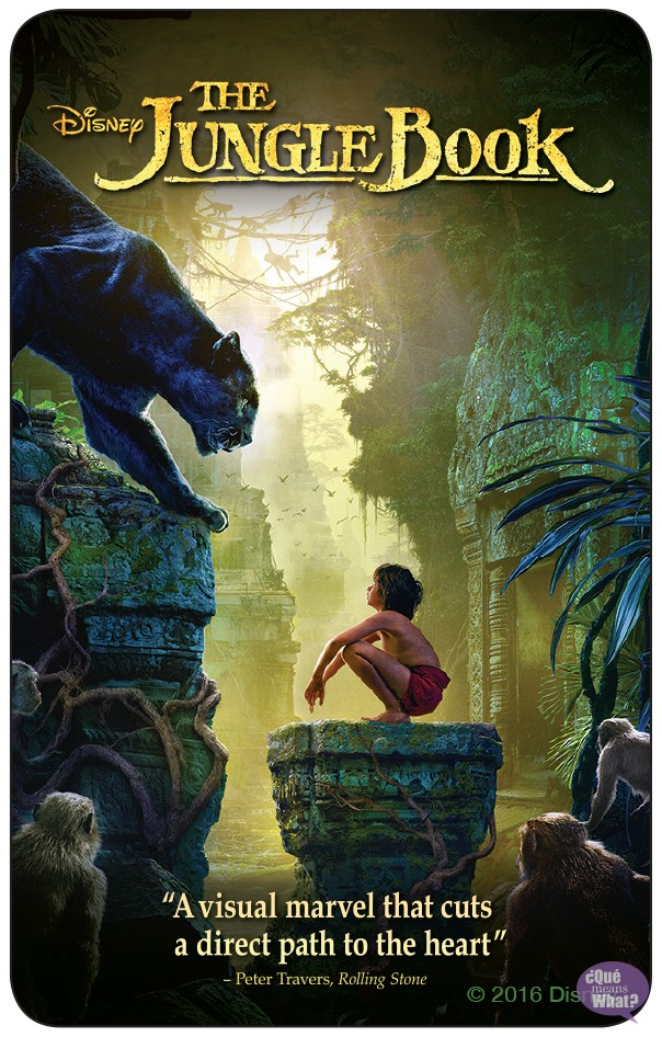 The Jungle Book Digital Copy Giveaway - QueMeansWhat