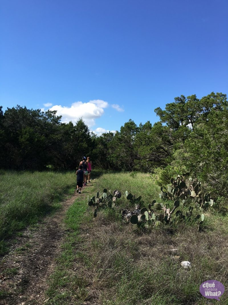 Trail Running in San Antonio at Government Canyon - Que Means What