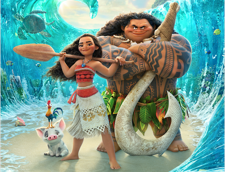 Moana Movie Poster - In theaters November 23