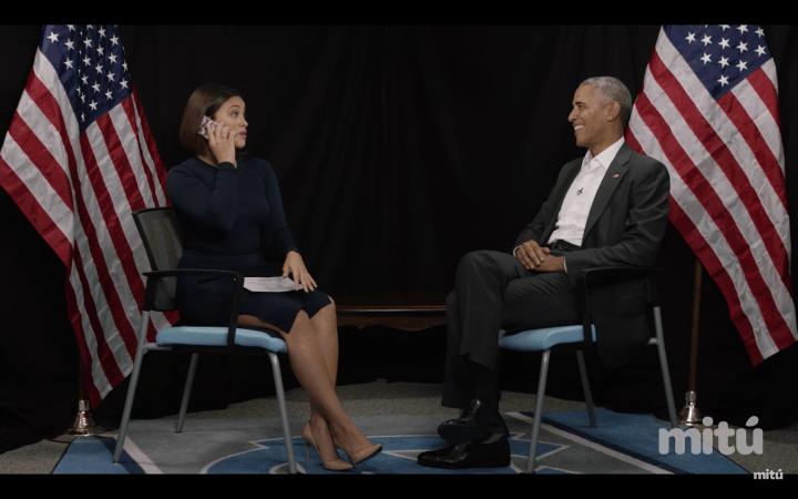 Gina Rodriguez Interviews President Obama