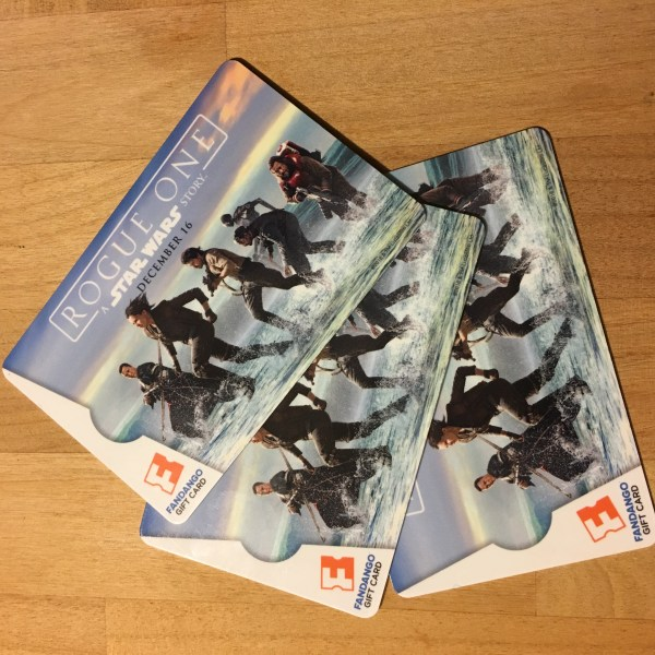 Rogue One: A Star Wars Story Fandango Gift Cards - QueMeansWhat.com