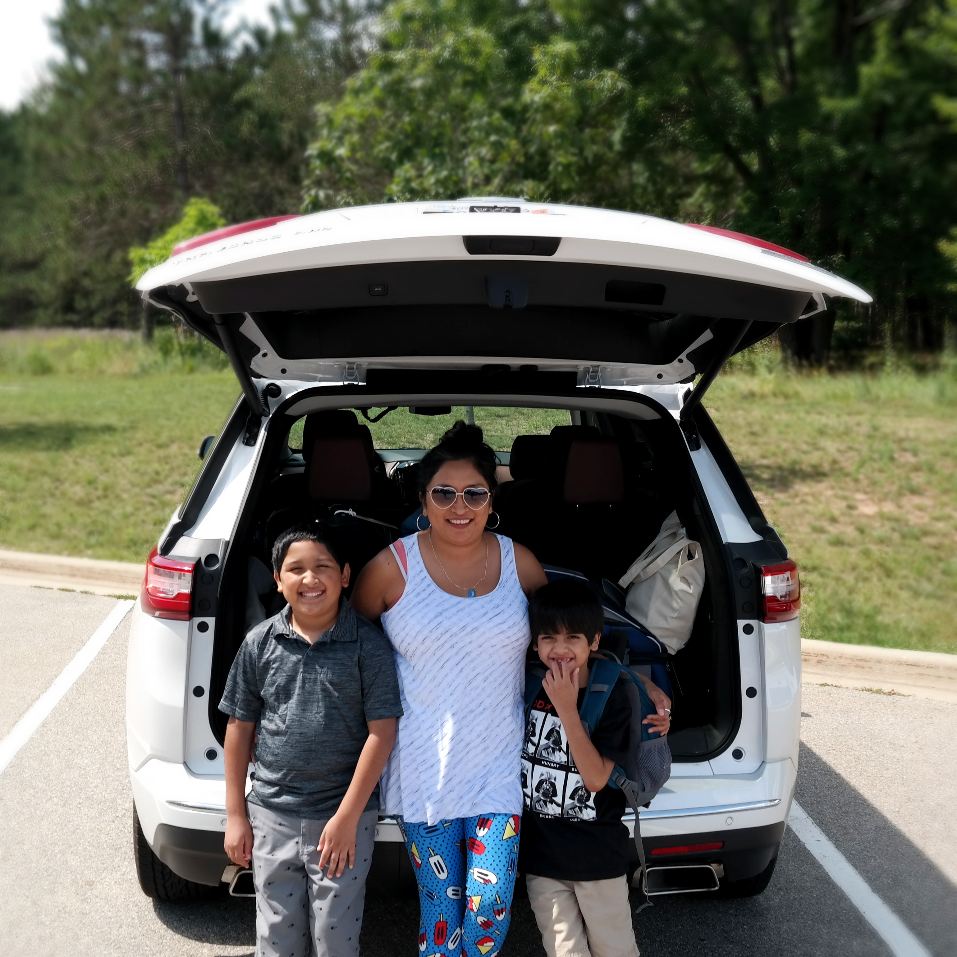 Tips for Family Road Trips in a Connected Car - Chevrolet Traverse