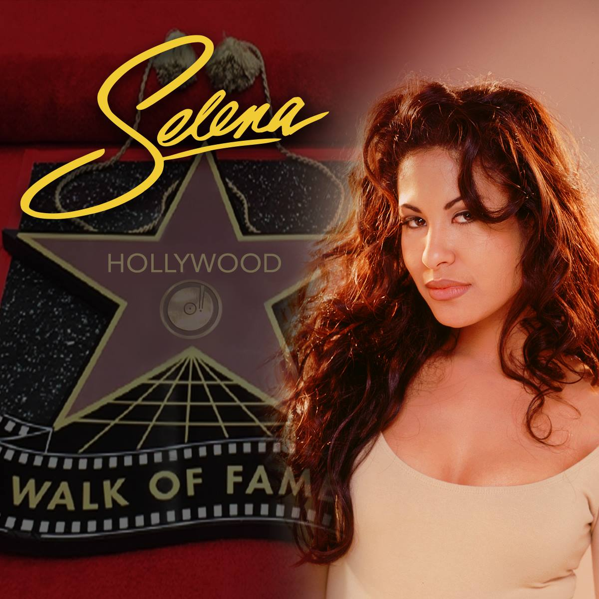 Selena Quintanilla Honored with Star on the Hollywood Walk of Fame
