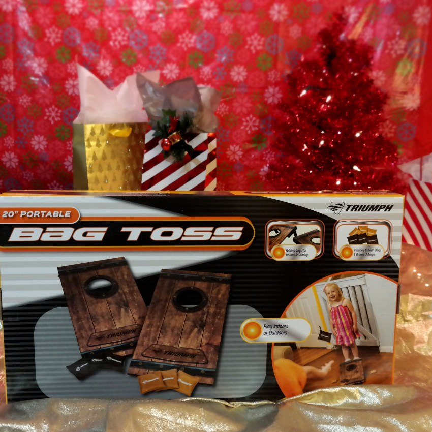 Bag Toss Game at Academy Sports + Outdoors on QueMeansWhat.com Gift Guide