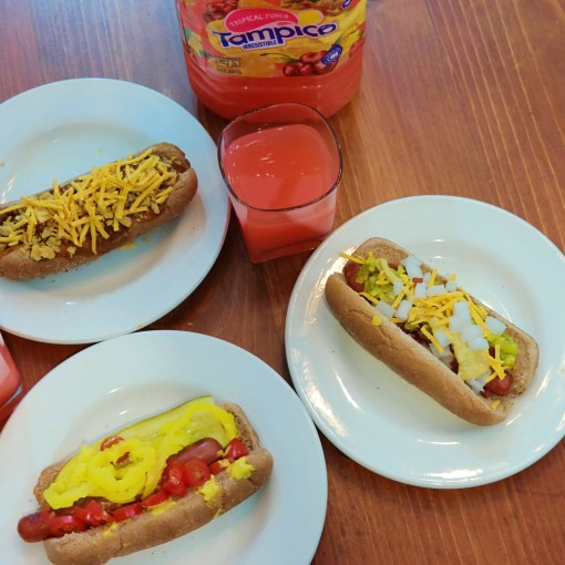 Three Hot Dogs Indoor Grilling - QueMeansWhat.com
