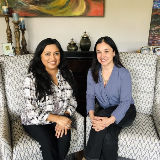 Latinas Who Lead - Photo of Melanie and Dr. Erika Gonzalez