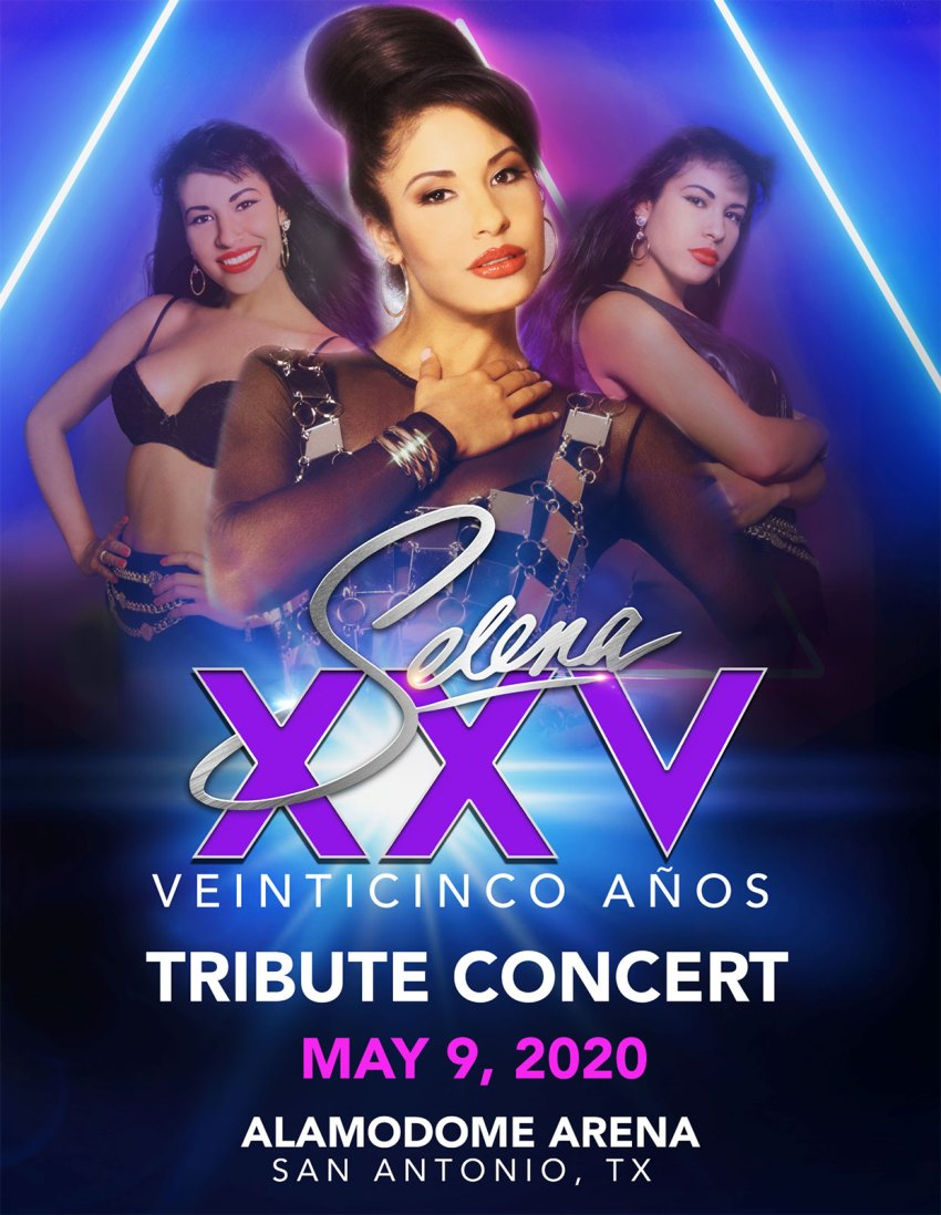 Selena Tribute Concert San Antonio, May 9 at Alamodome