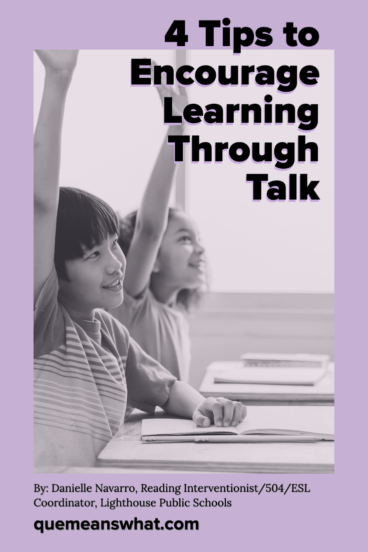 4 Tips to Encourage Learning at Home Through TALK