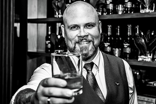 """""""I KNOW MORE MBAS THAT ARE GETTING INTO THE TRADE THAN STUDENTS TRYING TO MAKE ENDS MEET."""" MATT JONES, A BARTENDER AND WHISKY AMBASSADOR FOR BEAM SUNTORY CANADA"""