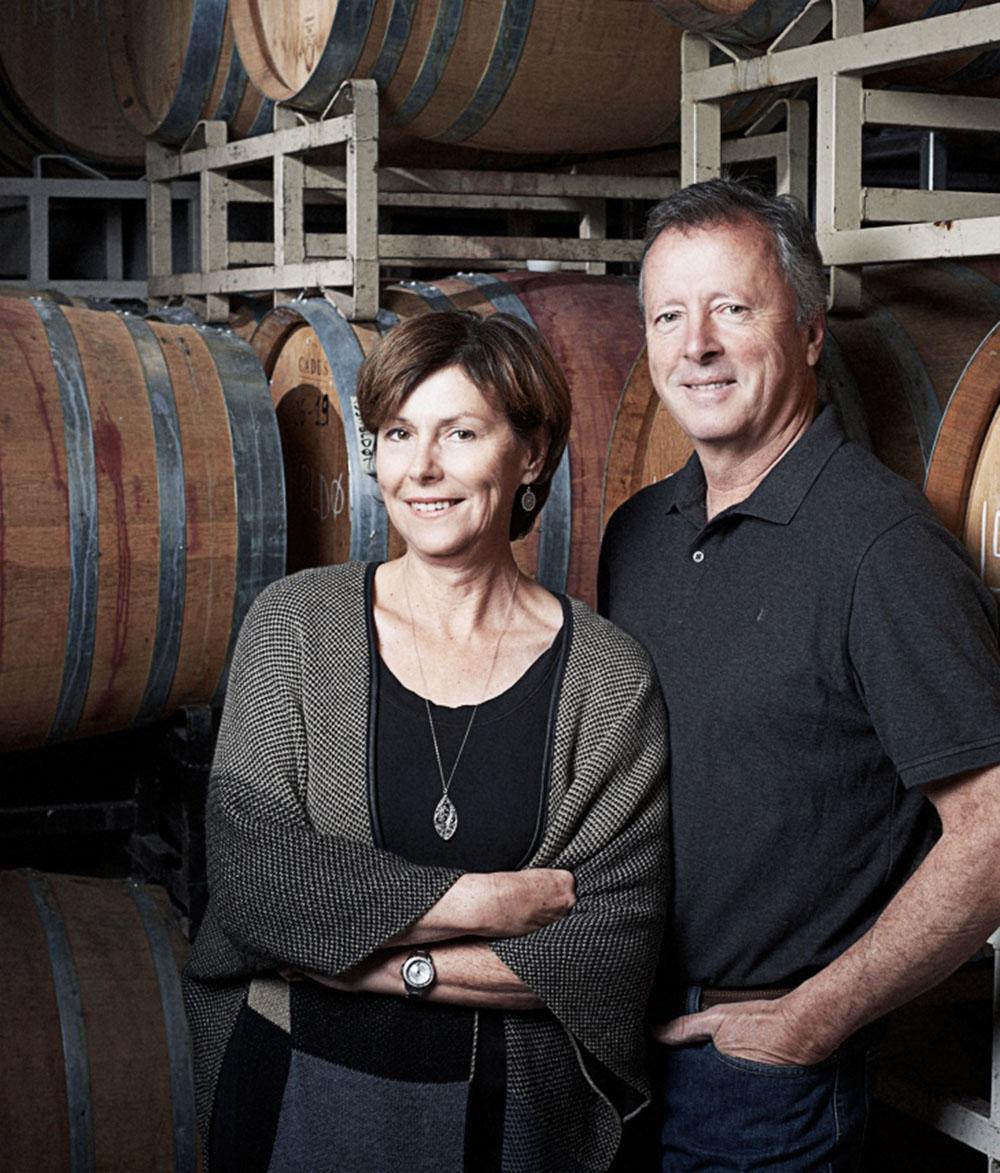Niva and Jeff Martin La Frenz Winery