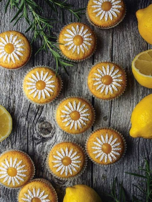 Rosemary Cupcakes Recipe from Bakeland