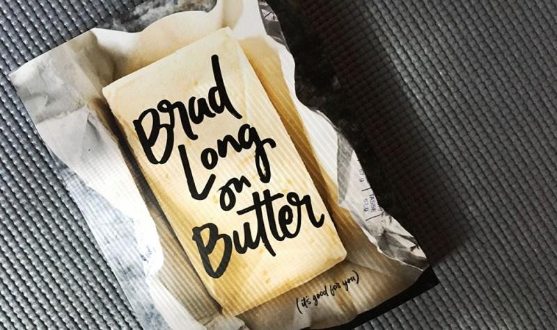 Brad Long on Butter