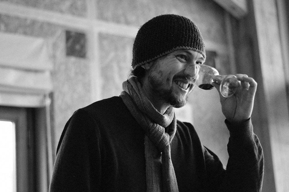 Kenji Hodgson Canadian Winemaker in France