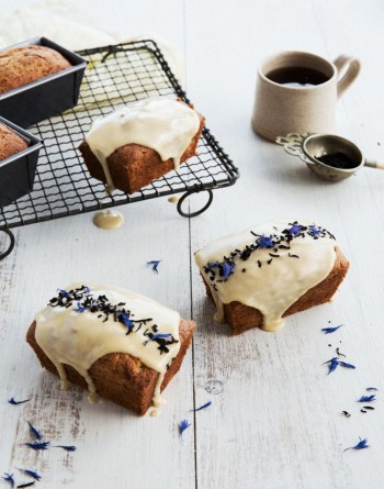 Lemon and Earl Grey Loaf Cakes