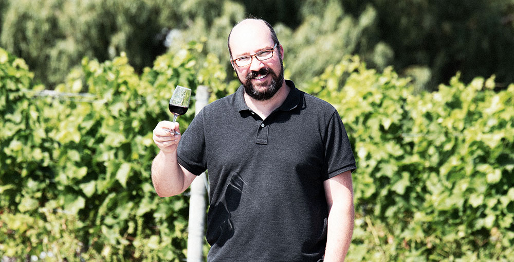 winemaker Jurg Stutz