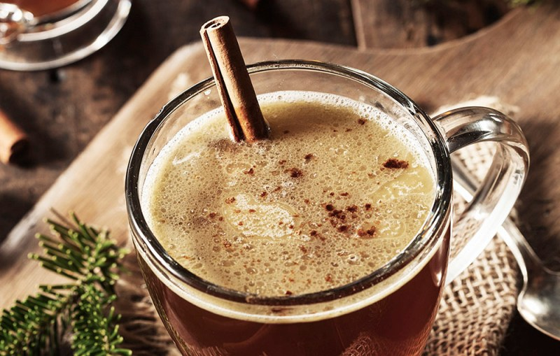 Homemade Hot Buttered Rum for the Holidays