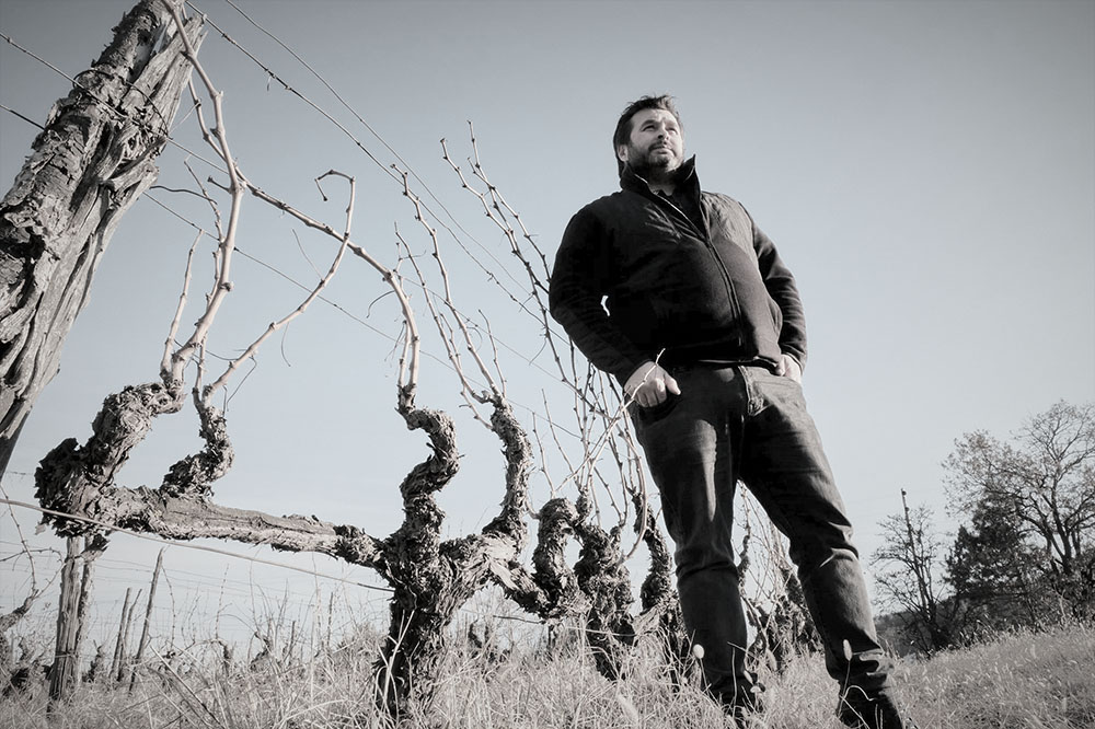 Apostolos Thymiopoulos, winemaker of Domain Thymiopoulos