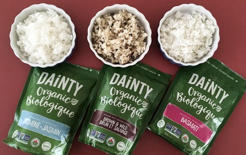 dainty organic rice