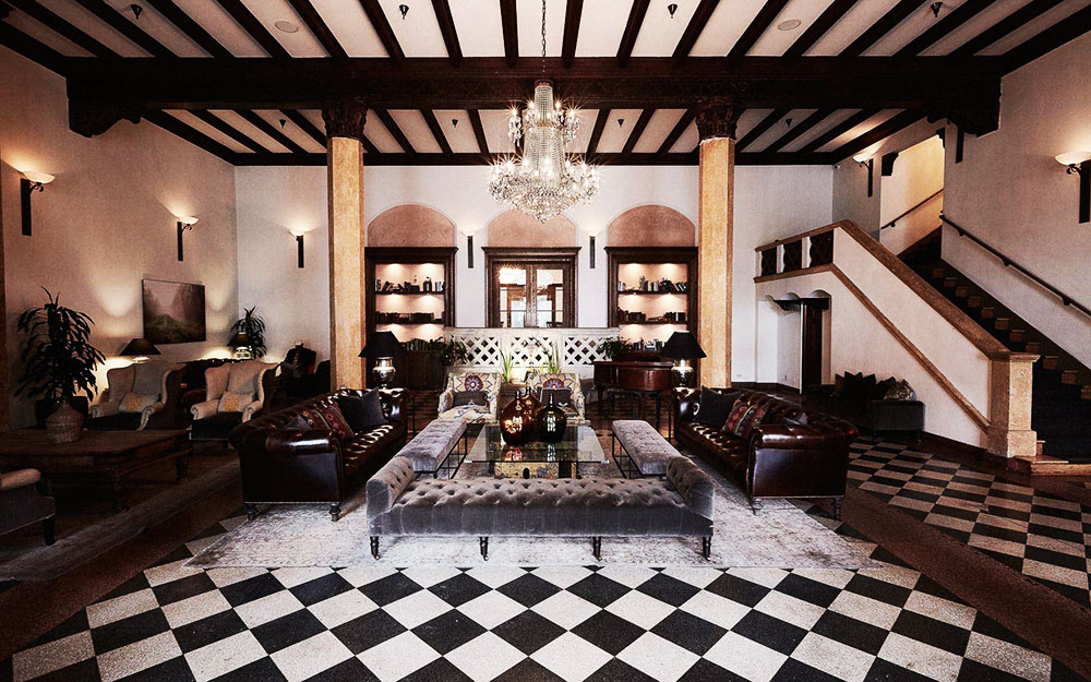 Southern California - Hotel Normandie Lobby