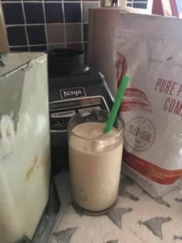 pb protein smoothie