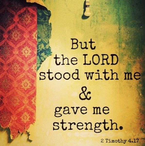 strong with the lord