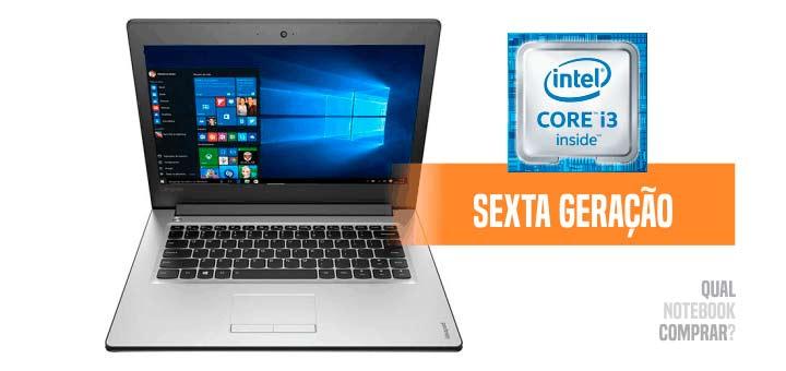 Notebook Lenovo Ideapad 310 Core i3 com preço bom