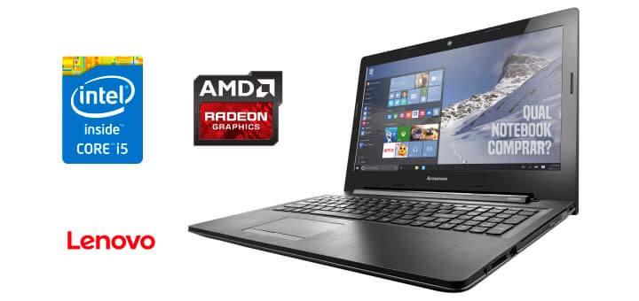 preço Notebook Lenovo G50-80 com Intel Core i5-5200U