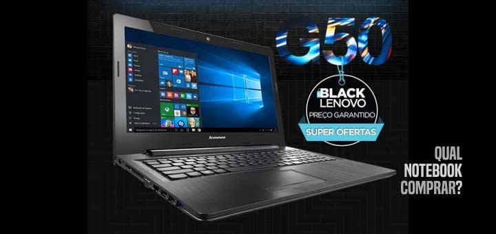 Notebook Lenovo G50-80 80R00006BR preço
