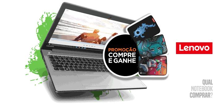 Lenovo Compre e Ganhe promoção notebook