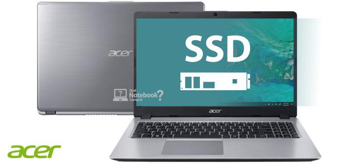 Novos Acer Aspire 5 A515-52 com SSD de fábrica no Brasil