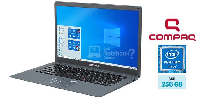 Compaq Presario CQ-25 PC806 capa Intel Pentium N3700 RAM 4 GB SSD 240 GB