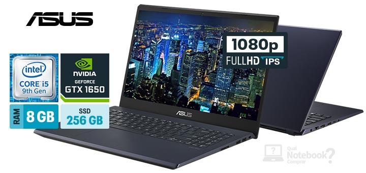 ASUS X571GT-AL887T capa Intel Core i5 9th RAM 8 GB SSD 256 GB GeForce GTX 1650 Full HD IPS 120 Hz