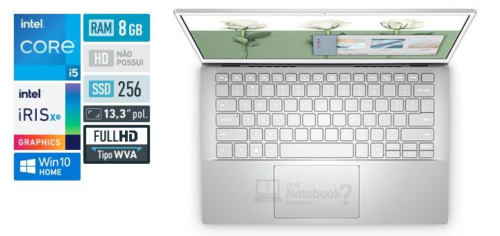 Dell Inspiron 13 5000 i13-5301-M10S Core i5 11th Tiger Lake RAM 8 GB SSD 256 GB