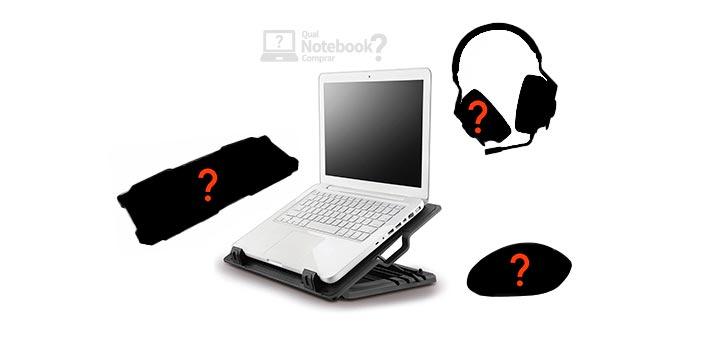 quais acessorios melhores comprar notebook