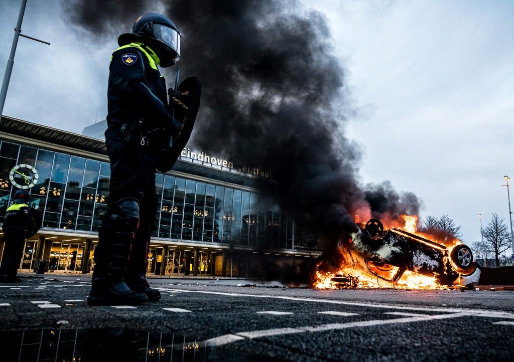 Protestas Países Bajos