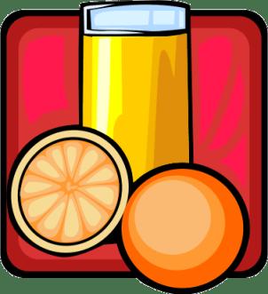 google freshness project depicted as fresh orange juice