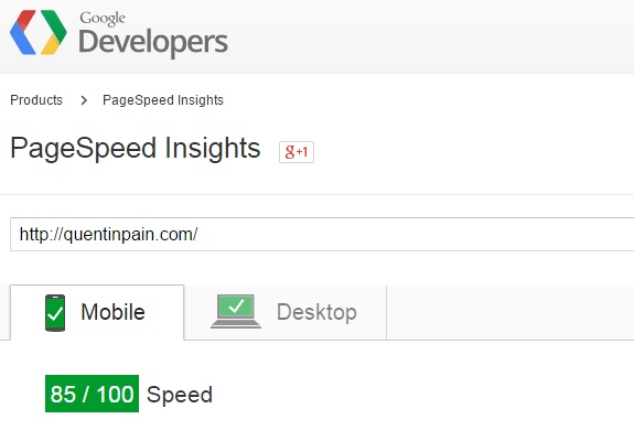 site speed after image